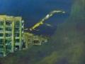 Agadir au crépuscule : 98cm/93cm 2013  -15000DH