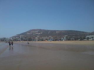 Agadir plage vide 2013