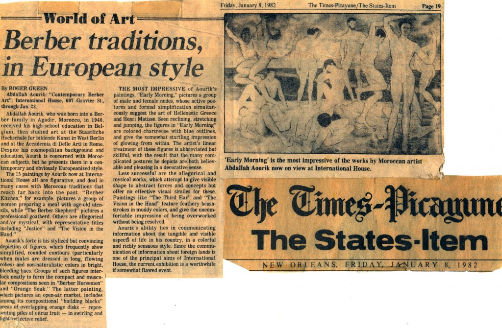 11-article N.O Louisiane USA 8 janvier 1982