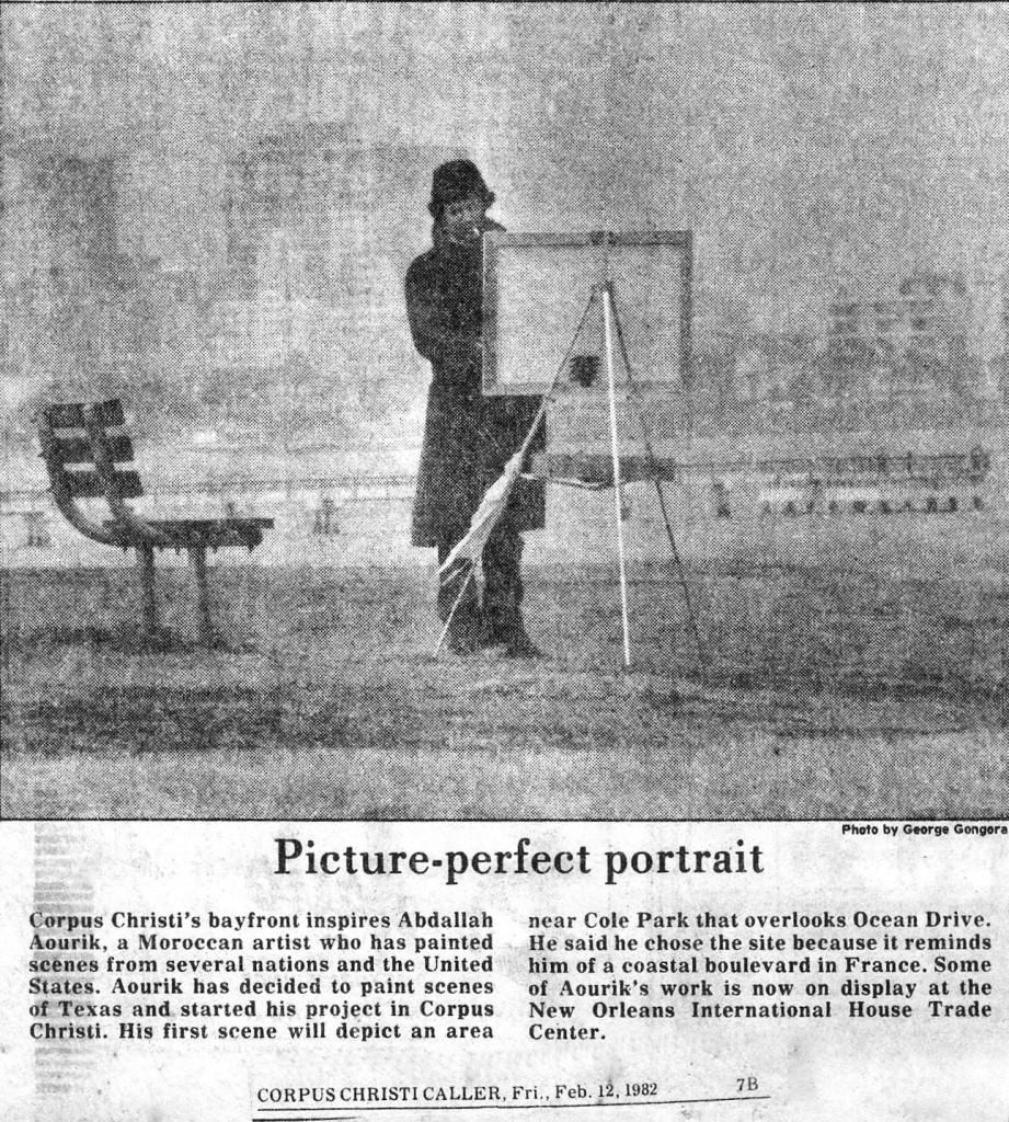 12-article Corpus Christi Texas, USA, 12 février 1982