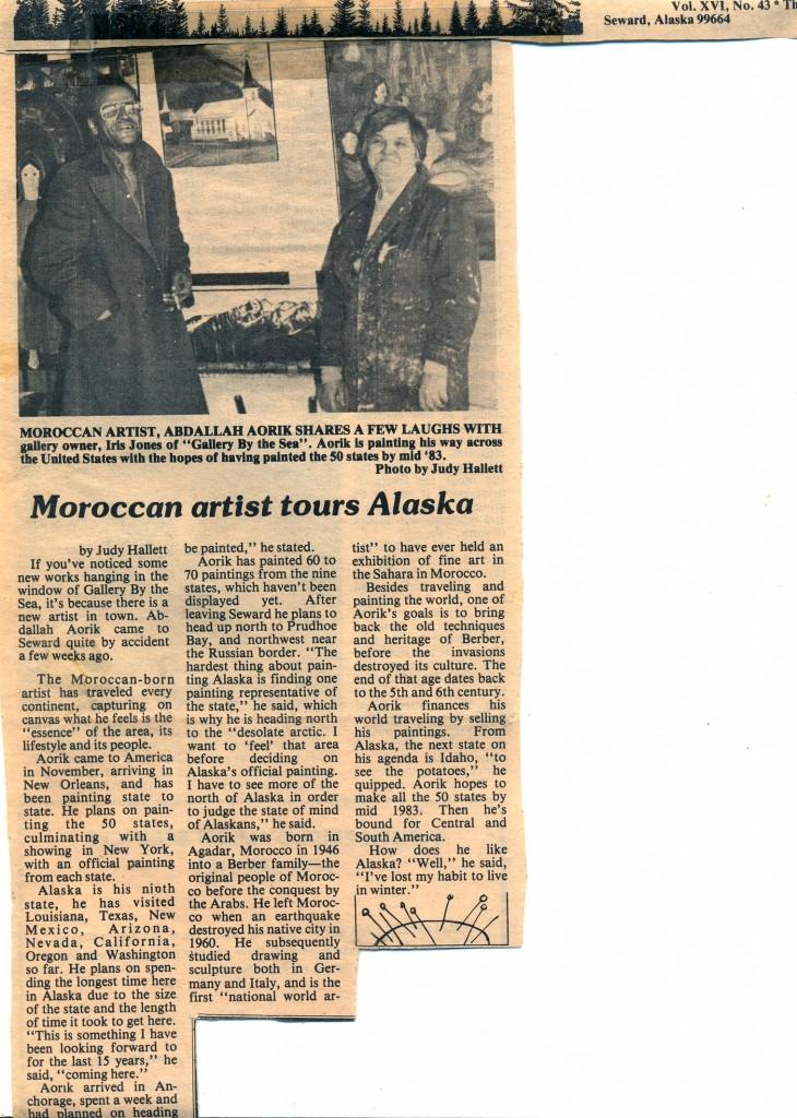 14-article Seward, Alaska, USA 1982