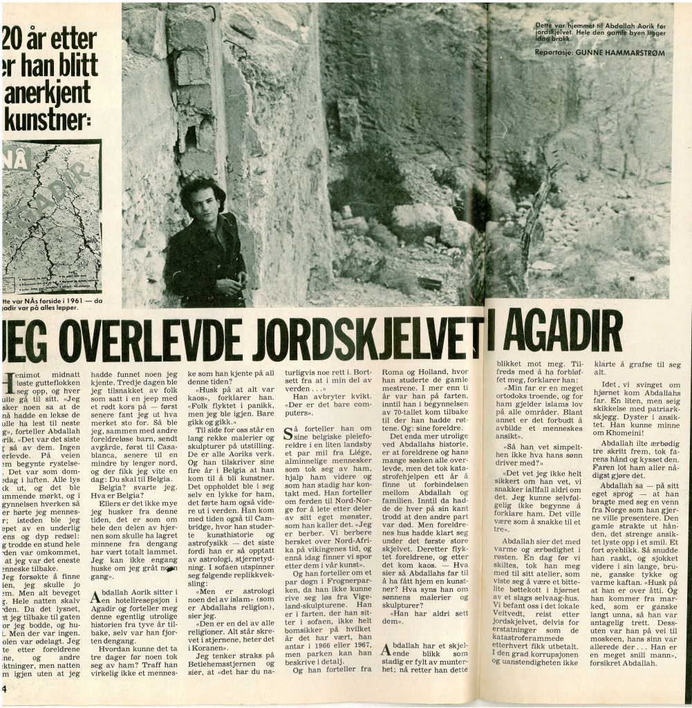 4-article Na Magazine, Norvège 1980