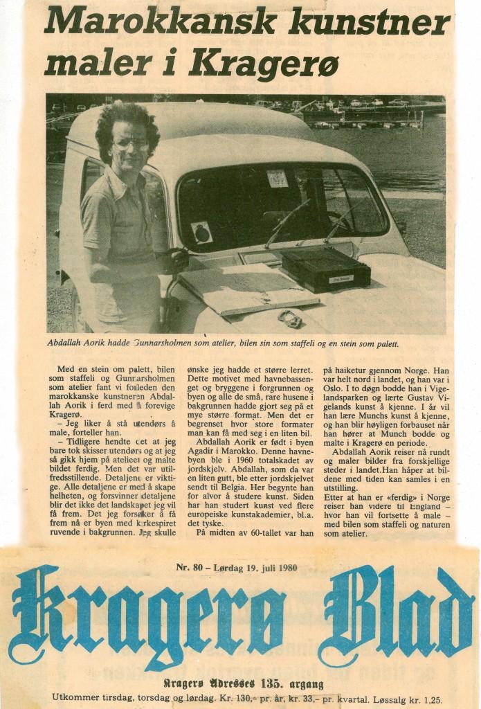 5-article Norvège 1980