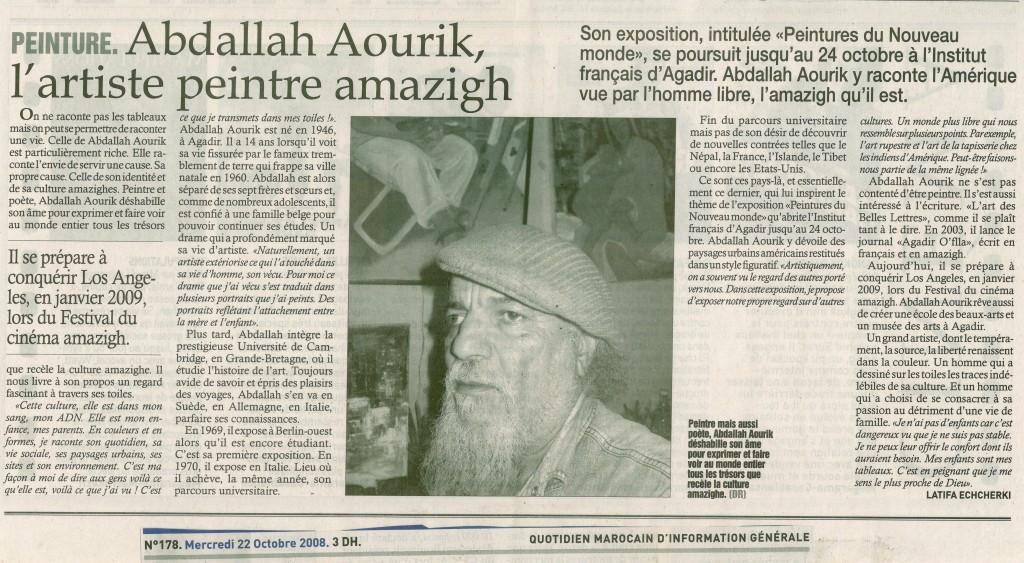 Le journal le soir du maroc