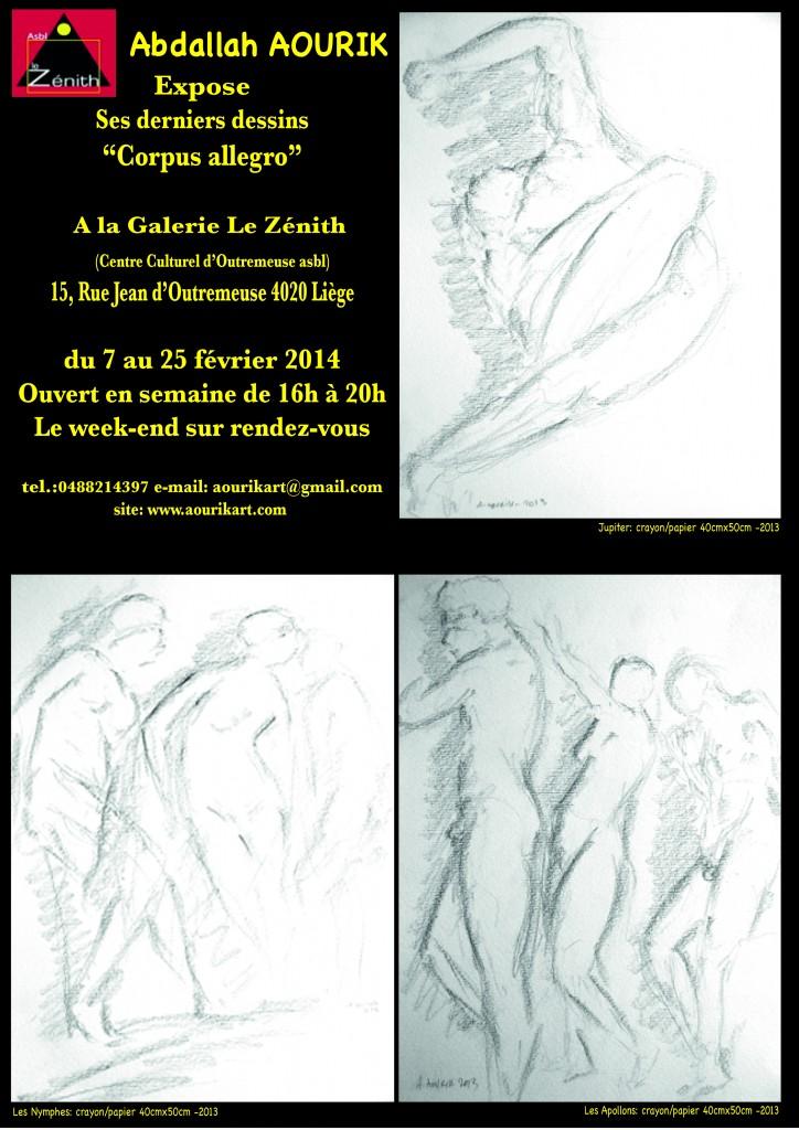 Affiche expos liège 2014