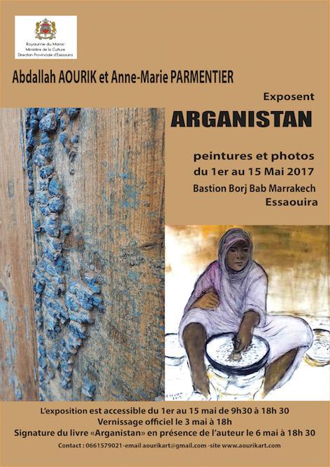 Affiche exposition Essaouira 2017 -3